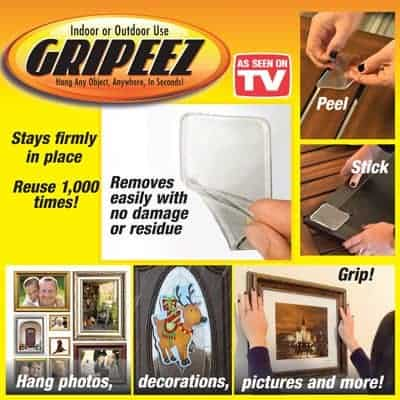 Gripeez Peel and Stick