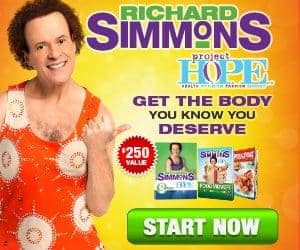 Richard Simmons Project Hope