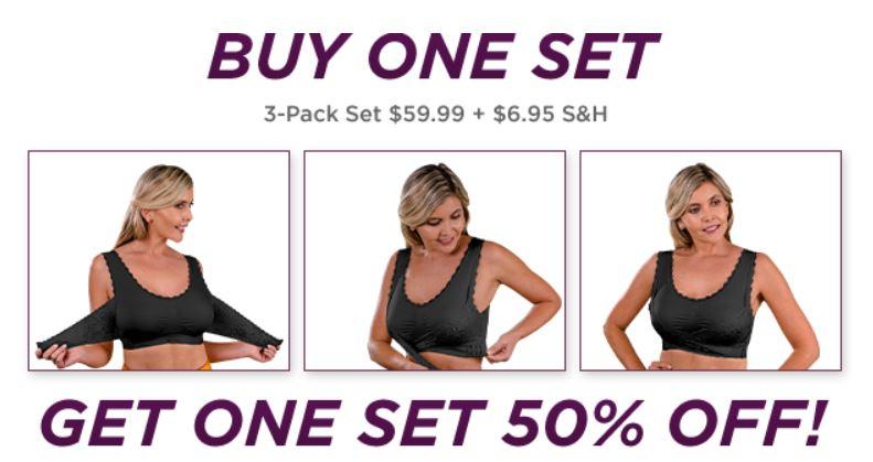 Buy Comfy Corset Bra Set