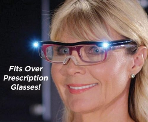 Mighty Sight Fits Over Prescription Glasses
